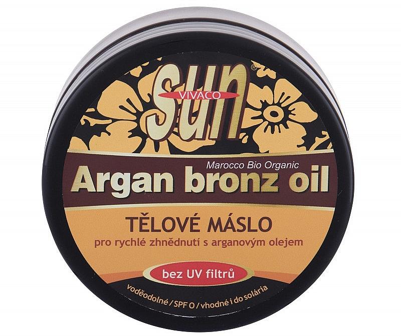 Selbstbräunungslotion für den Körper mit Arganöl - Vivaco Sun Argan Bronze Oil Tanning Butter