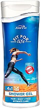 "Düfte, Parfümerie und Kosmetik Duschgel ""Fit for life"" 4 in 1 - Joanna Fit For Life 4in1 Shower Gel For All Body Odour Stoper For Women"