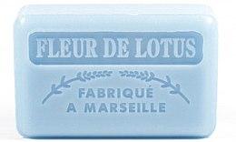 Düfte, Parfümerie und Kosmetik Handgemachte Naturseife Fleur De Lotus - Foufour Savonnette Marseillaise Fleur De Lotus