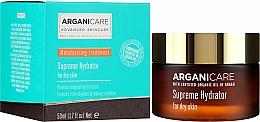 Düfte, Parfümerie und Kosmetik Feuchtigkeitsspendende Gesichtscreme mit Arganöl für trockene Haut - Arganicare Shea Butter Supreme Hydrator