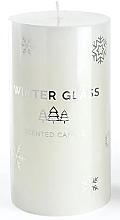 Düfte, Parfümerie und Kosmetik Duftkerze weiß 7x13 cm - Artman Winter Glass