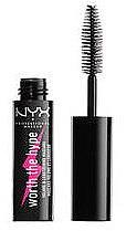 Düfte, Parfümerie und Kosmetik Wimperntusche mit Volumen Effekt (Mini) - NYX Professional Worth the Hype Volumizing & Lengthening Mascara