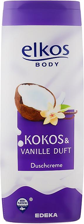 Duschcreme Kokosnuss & Vanille - Elkos Coconut & Vanilla Shower Gel
