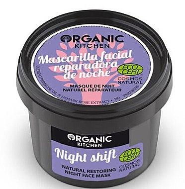 Regenerierende Gesichtsmaske für die Nacht - Organic Shop Organic Kitchen Fase Mask