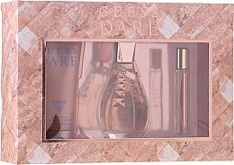 Düfte, Parfümerie und Kosmetik Guess Dare - Duftset (Eau de Toilette 100ml + Körperlotion 200ml + Eau de Toilette 15ml)