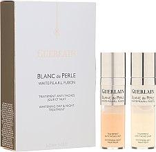 Düfte, Parfümerie und Kosmetik Aufhellende Tag- und Nachtbehandlung - Guerlain Blanc De Perle Whitening Day & Night Treatment