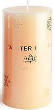Düfte, Parfümerie und Kosmetik Duftkerze beige 7x19 cm - Artman Winter Glass