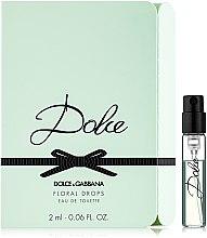Düfte, Parfümerie und Kosmetik Dolce & Gabbana Dolce Floral Drops - Eau de Toilette (Probe)