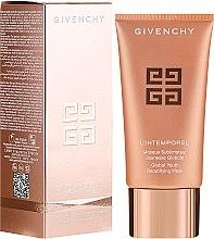 Düfte, Parfümerie und Kosmetik Erfrischende Gesichtsmaske mit Metallic-Effekt - Givenchy L'intemporel Global Youth Beautifying Mask