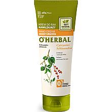 Düfte, Parfümerie und Kosmetik Feuchtigkeitsspendende Handcreme mit Schisandra-Extrakt - O'Herbal Moisturizing Hand Cream With Schisandra Extract