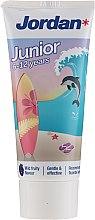 Düfte, Parfümerie und Kosmetik Kinder-Zahnpasta 6-12 Jahre Delfin - Jordan Junior Toothpaste
