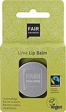 Düfte, Parfümerie und Kosmetik Pflegender, feuchtigkeitsspendender und aufweichender Lippenbalsam mit Limettenduft - Fair Squared Lip Balm Lime