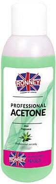 Nagellackentferner mit Aloe-Duft - Ronney Professional Acetone Aloe