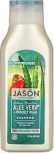 Düfte, Parfümerie und Kosmetik Feuchtigkeitsspendendes Shampoo mit Aloe Vera - Jason Natural Cosmetics Moisturizing Aloe Vera 84% Shampoo