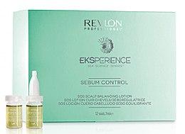 Düfte, Parfümerie und Kosmetik Sebumregulierende Kopfhaut-Ampullen für fettiges Haar - Revlon Professional Eksperience
