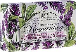 Düfte, Parfümerie und Kosmetik Seife mit toskanischem Lavendel und Verbene - Nesti Dante Romantica