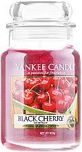 Düfte, Parfümerie und Kosmetik Duftkerze im Glas Black Cherry - Yankee Candle Black Cherry Jar