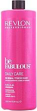 Stärkendes Shampoo für normales und dickes Haar - Revlon Professional Be Fabulous Daily Care Shampoo — Bild N1
