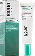Düfte, Parfümerie und Kosmetik Beruhigende Nachtcreme gegen Akne - Bioliq Specialist Acne Marks Removal Night Cream