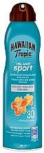 Düfte, Parfümerie und Kosmetik Ultra leichtes Sonnenschutzspray für den Körper mit tropischem Duft Sport SPF 30 - Hawaiian Tropic Island Sport Ultra Light Spray SPF 30
