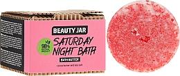 Düfte, Parfümerie und Kosmetik Badebutter mit Kokosnuss und Meersalz - Beauty Jar Saturday Night Bath Bath Butter
