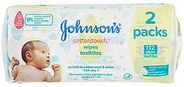 Düfte, Parfümerie und Kosmetik Extra weiche Feuchttücher für Babys Duopack - Johnson's Baby Cotton Touch