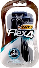 Düfte, Parfümerie und Kosmetik Einwegrasierer Flex 4 3 St. - Bic