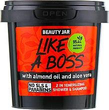 "Düfte, Parfümerie und Kosmetik Shampoo & Duschgel ""Like a Boss"" - Beauty Jar 2in1Energizing Shower & Shampoo"