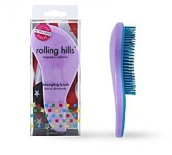 Düfte, Parfümerie und Kosmetik Entwirrbürste hellviolett - Rolling Hills Detangling Brush Travel Size Light Purple