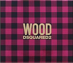 Düfte, Parfümerie und Kosmetik Dsquared2 Wood Pour Femme - Duftset (Eau de Toilette 50ml + Körperlotion 50ml + Duschgel 50ml)