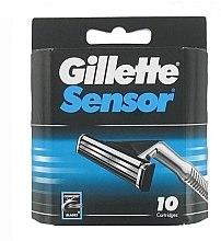 Düfte, Parfümerie und Kosmetik Ersatzklingen 10 St. - Gillette Sensor