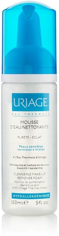 Gesichtsreinigungsschaum zum Abschminken für normale, gemischte und empfindliche Haut - Uriage Cleansing Make-up Remover Foam — Bild N1