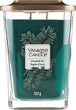 Düfte, Parfümerie und Kosmetik Duftkerze - Yankee Candle Elevation Frosted Fir