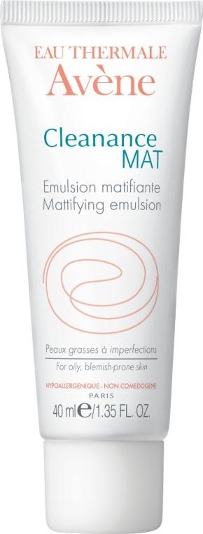 Mattierende Gesichtsemulsion für unreine Haut - Avene Anti-Seborrheiques Cleanance Emulsion — Bild N1