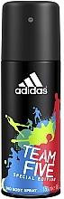 Düfte, Parfümerie und Kosmetik Adidas Team Five - Deospray