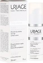 Düfte, Parfümerie und Kosmetik Gesichtsserum gegen Pigmentflecken SPF 15 - Uriage Depiderm Anti-Brown Spot Fluid SPF15