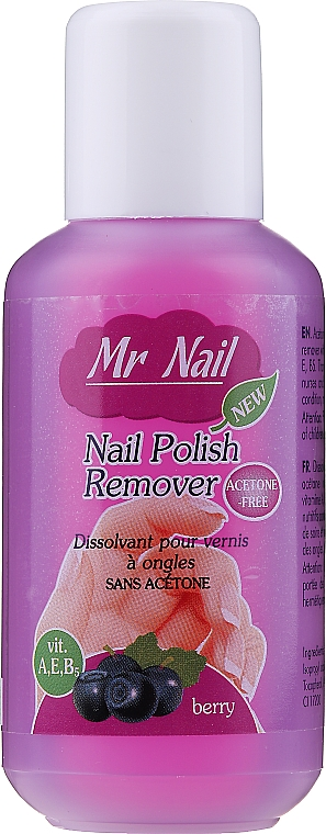 Nagellackentferner Heidelbeere - Art de Lautrec Mr Nail Polish Remover Berry — Bild N1