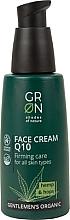 Düfte, Parfümerie und Kosmetik Straffende Gesichtscreme mit Hanf und Hopfen - GRN Gentlemen's Organic Q10 Hemp & Hop Face Cream