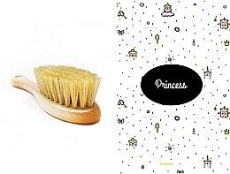 Düfte, Parfümerie und Kosmetik Pflegeset für Kinder - LullaLove Princess (Haarbürste + Musselin-Badetuch)