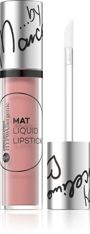 Hypoallergener flüssiger Lippenstift - Bell Hypoallergenic Mat Lip Liquid by Marcelina — Bild N2