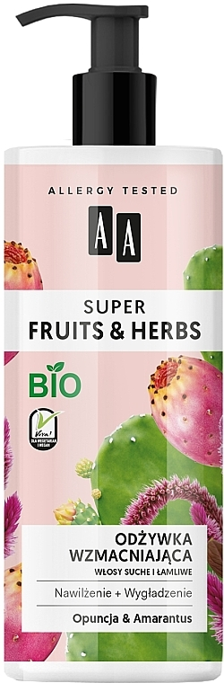 Stärkender Conditioner mit Opuntie und Amarant - AA Super Fruits Herbs Conditioner