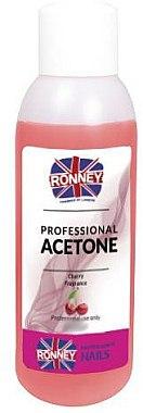 Nagellackentferner mit Kirschduft - Ronney Professional Acetone Cherry