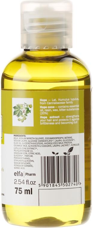 Shampoo für lockiges und widerspenstiges Haar mit Hopfenextrakt - O'Herbal — Bild N2