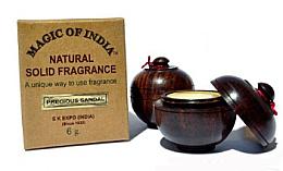 Düfte, Parfümerie und Kosmetik Natürliches Creme-Parfüm Precious Sandal - Shamasa