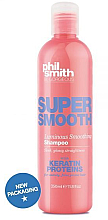 Düfte, Parfümerie und Kosmetik Glättendes Shampoo mit Keratin - Phil Smith Be Gorgeous Super Smooth Luminous Smoothing Shampoo