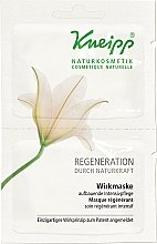 Düfte, Parfümerie und Kosmetik Regenerierende Gesichtsmaske - Kneipp Regeneration Durch Naturkraft Wirkmaske