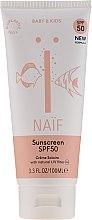 Düfte, Parfümerie und Kosmetik Sonnenschutzcreme für Babys und Kinder SPF 50 - Naif Baby & Kids Sunscreen SPF 50
