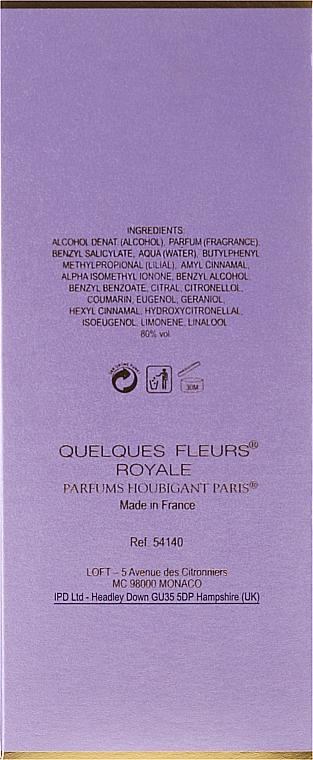 Houbigant Quelques Fleurs Royale Women - Eau de Parfum — Bild N3