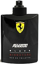 Düfte, Parfümerie und Kosmetik Ferrari Scuderia Ferrari Black Signature - Eau de Toilette (Tester ohne Deckel)