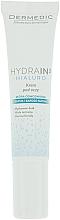 Düfte, Parfümerie und Kosmetik Augenkonturcreme für trockene und dehydrierte Haut mit Hyaluronsäure - Dermedic Hydrain 3 Hialuro Eye Cream